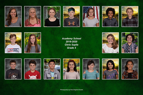 school photo by New England Studio